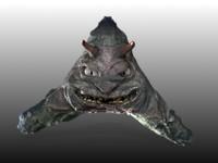 bob sea creatures 3d model