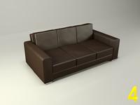 3dsmax 3 sofa