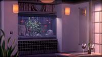 3ds max fish tank