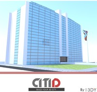 citid office buildings government 3ds