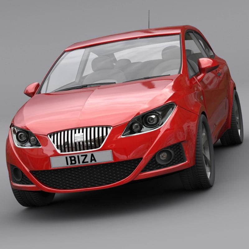 3d Model Seat Ibiza Sc Copa