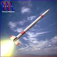 3ds max japanese rocket mt-135