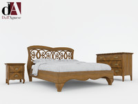 3d model bedroom symfonia dell agnese