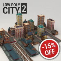 3d city buildings 2 model