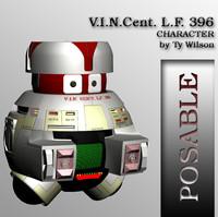 robot 396 3d model