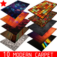 3D Carpet Rug Set