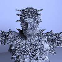 3d model ice demon