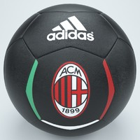 ac milan football foot 3d 3ds