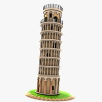 Cartoon Tower of Pisa