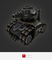 rts tank 3d model