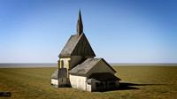 medieval church 3d max