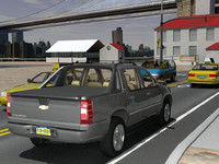 3d model chevrolet avalanche gmt900