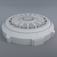 generator space 3d model
