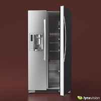 LG Side-by-Side Refrigerator