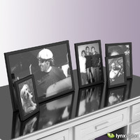 3d metallic photo frames pictures