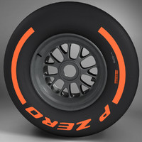 F1 tyre hard front