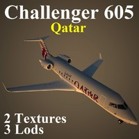 bombardier challenger 605 qtr max