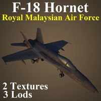 3d boeing rmf fighter model