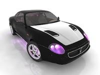 3d polygonal cars