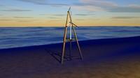 3d model offshore wind