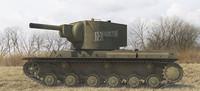 Kliment Voroshilov KV-2 Tank