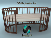 3ds stokke bed