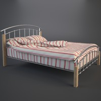 3d max folded duvet double bed