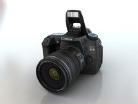 3d canon eos 70d model