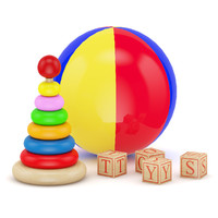 Ball and Blocks Toys