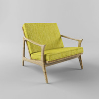 yellow armchair max