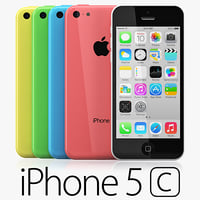 iPhone 5C five colors