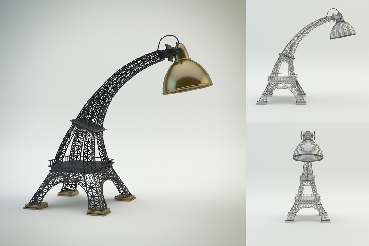 max lamp eiffel tower. Black Bedroom Furniture Sets. Home Design Ideas