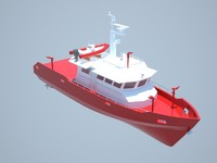 Firefighting boat 20m