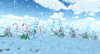 3ds max brushwood winter