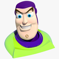 buzz head turbosmooth 3d model