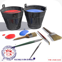 maya paint buckets