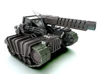 3d model tank tx 600