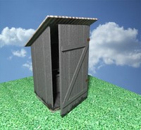old latrine 3d x