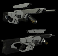 Sci Fi Rifle