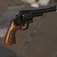 44 Magnum Revolver Model 29 Smith & Wesson