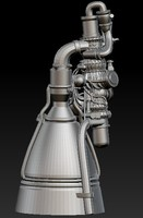 3d rocket engine nk-33