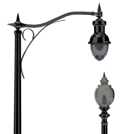 Outdoor Lighting Control Systems Decorative Street Lights