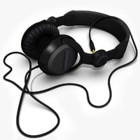 technics headphones 3d model