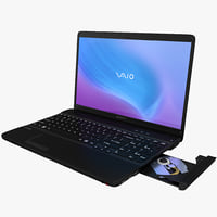 Laptop Sony VAIO E Series Black
