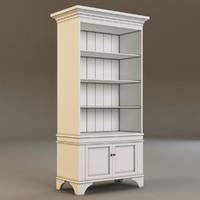 3dsmax laura ashley bookcase