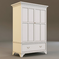 laura ashley cabinet 3d model