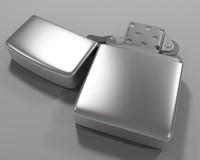 zippo light 3d model
