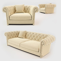 3d model busnelli jadore sofa