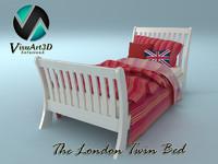 london bed 3d model