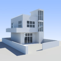 3d max house towns